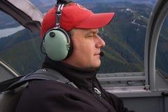 приватное воздуха пилотное стоковая фотография
