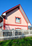 приватное дома самомоднейшее Стоковая Фотография