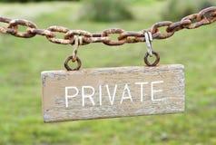 приватно Стоковые Фотографии RF