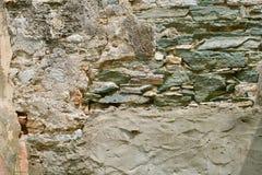 Приведенная болезненная кирпичная стена Стоковое Изображение RF