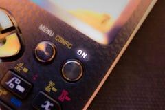 Приведите кнопку в действие НА ключе на клавиатуре научного калькулятора стоковое фото rf