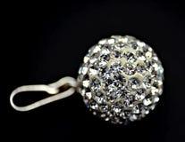 привесной серебряный zircon Стоковое Фото