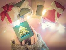 Приветствие и торжество для wi рождества, дня рождения или Нового Года Стоковое фото RF