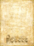 приветствие карточки ретро Стоковые Фото