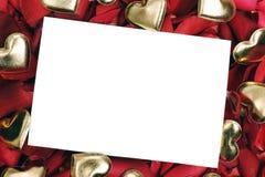 приветствие карточки Стоковые Фотографии RF