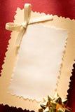 приветствие карточки Стоковая Фотография
