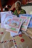 Приветствие карточки Eid Стоковые Фото