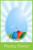 приветствие пасхи карточки Стоковые Фотографии RF