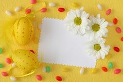 приветствие пасхи карточки Стоковая Фотография RF