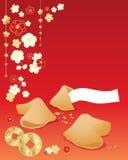 Приветствие печенья с предсказанием Стоковые Изображения RF