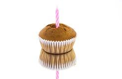 приветствие пирожня поздравительой открытки ко дню рождения счастливое Стоковые Фотографии RF