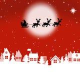 приветствие рождества карточки веселое Стоковые Изображения RF