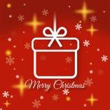 приветствие рождества карточки веселое Стоковые Фотографии RF