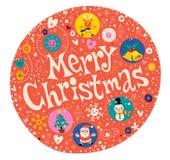 приветствие рождества карточки веселое бесплатная иллюстрация