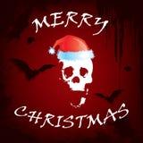 приветствие рождества карточки страшное Стоковые Фото