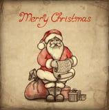 приветствие рождества карточки иллюстрация штока