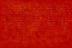 приветствие рождества предпосылки веселое Стоковое Изображение RF