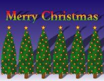 Приветствие рождества Стоковые Изображения