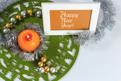 приветствие рождества карточки веселое Стоковое Фото
