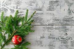 приветствие рождества карточки звезды абстрактной картины конструкции украшения рождества предпосылки темной красные белые Стоковая Фотография RF