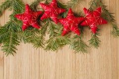 приветствие рождества карточки предпосылки Стоковые Изображения RF