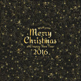 приветствие рождества карточки Стоковые Изображения RF