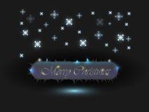 Приветствие рождества Стоковое Изображение