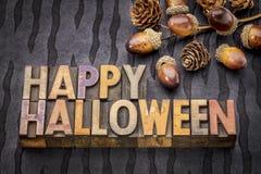 приветствие halloween карточки счастливый Стоковое Изображение