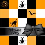 приветствие halloween карточки Иллюстрация штока