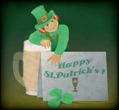 Приветствие St. Patrick Стоковые Изображения