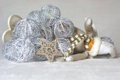 Приветствия и звезды от рождества Стоковые Фото
