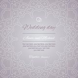 Приветствия открытки венчание романтичного символа приглашения сердец элегантности предпосылки теплое Стоковое Изображение