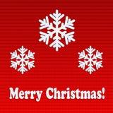 Приветствия праздника рождества Стоковое Изображение