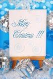 приветствия рождества backgound Стоковое фото RF