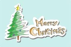 приветствия рождества веселые Стоковое Фото
