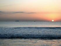 Приветствованный восход солнца Стоковое Фото
