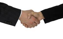 приветствовать давления руки Стоковые Фотографии RF