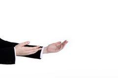 Приветствующие руки Стоковая Фотография RF