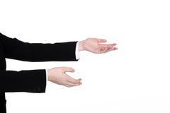 Приветствующие руки Стоковое Изображение RF