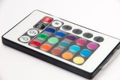Приведенное RGB controler remote инфракрасн прокладки Стоковые Изображения RF