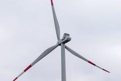 приведенный в действие ветер турбины Стоковое Изображение