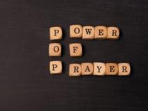 приведите молитву в действие стоковое фото