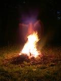 привидение пожара Стоковое Изображение