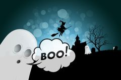 привидение halloween предпосылки стоковая фотография rf