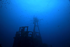 привидения подводные Стоковое Изображение