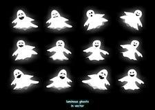 привидения светящие Стоковое Изображение