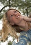 привлекательная блондинка Стоковое Изображение RF