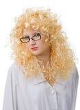 привлекательная блондинка стоковое изображение