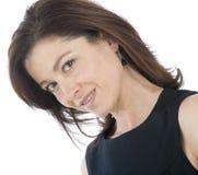 привлекательная возмужалая женщина портрета стоковое изображение rf