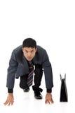 привлекательная гонка nepalese бизнесмена Стоковые Изображения
